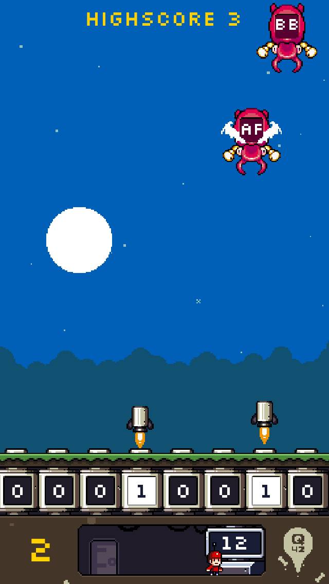 Flippy Bit And The Attack Of The Hexadecimals From Base 16 screenshot two