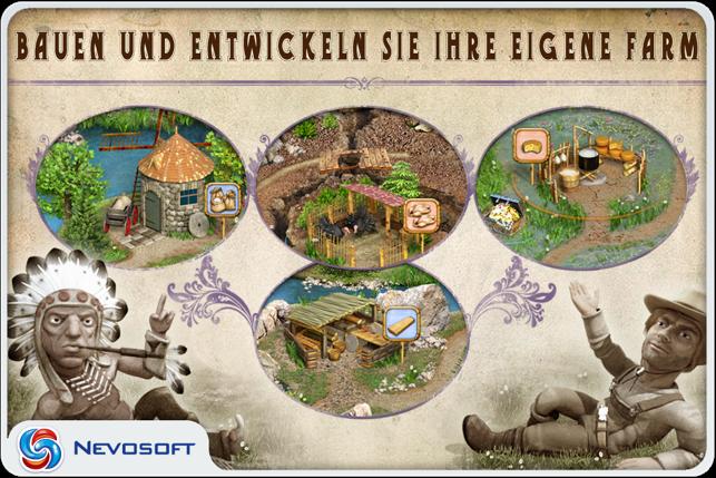 Pioneer Lands lite: western settlers strategy Screenshot