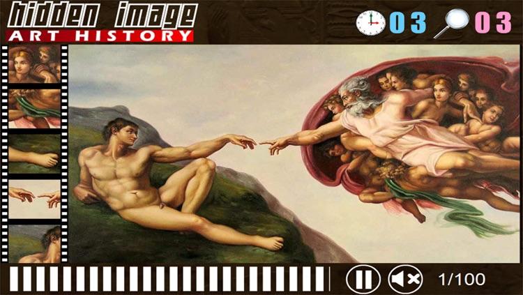 Art History Hidden Image