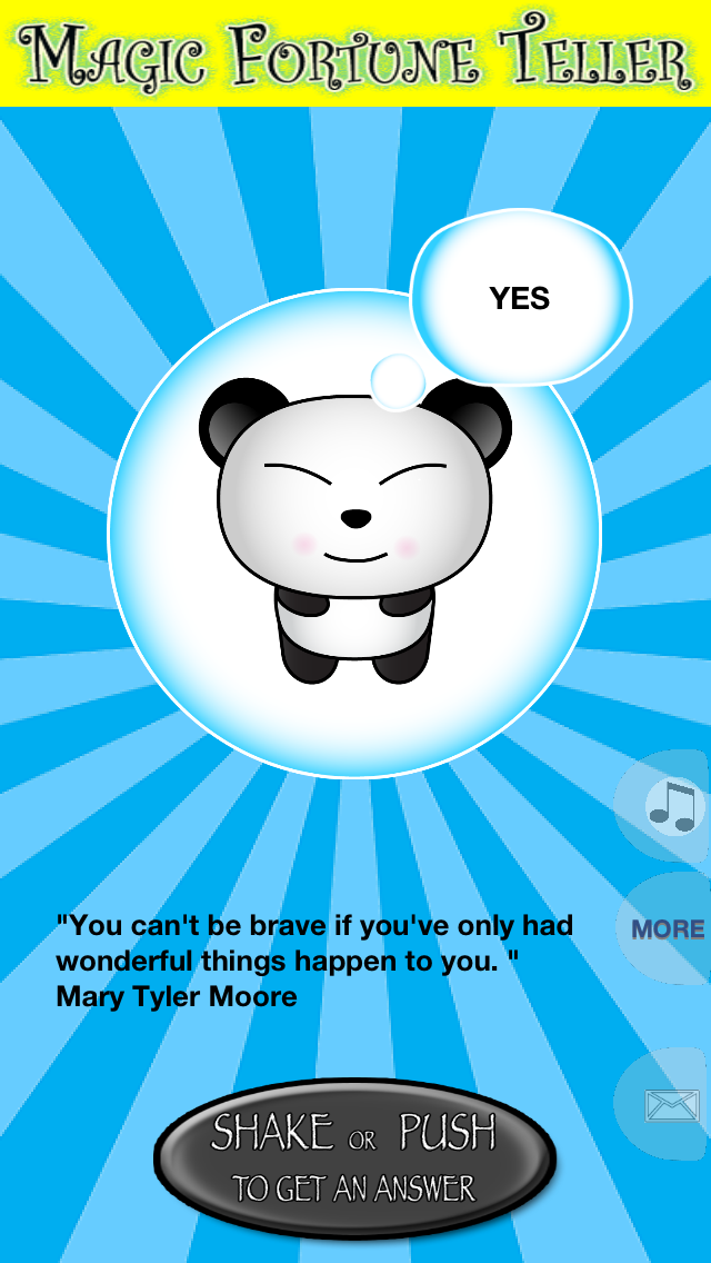 Panda's Magic Fortune Teller - A Crystal Ball to Predict The