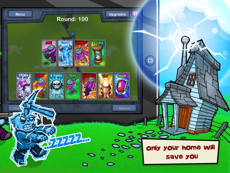 Charge The Zombie HD screenshot-4