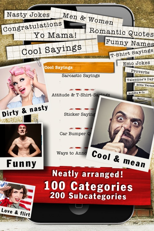 88,000 Sayings & Jokes - Funny Catalog screenshot-2