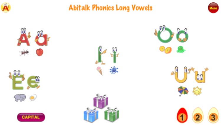 ABC Phonics Long Vowel Words