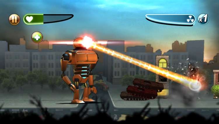 Robot Rampage screenshot-0
