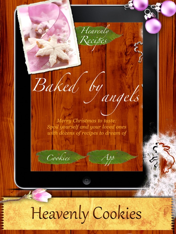 Christmas Cookies - Heavenly Holiday Recipes Made by Angels! screenshot-0