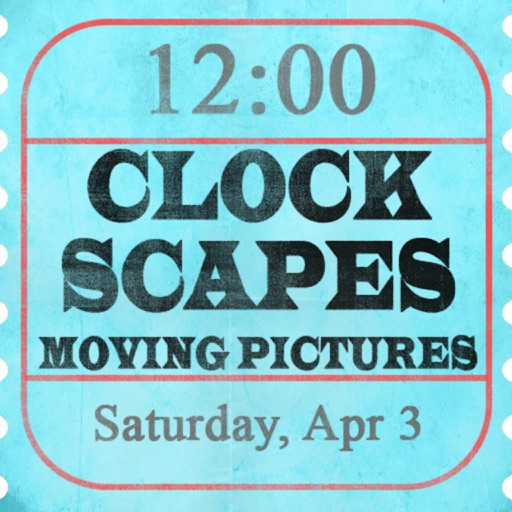 Clockscapes Moving Pictures - Animated Clock Display!