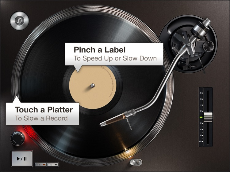 Turnplay - The #1 vinyl record player for iPad screenshot-3