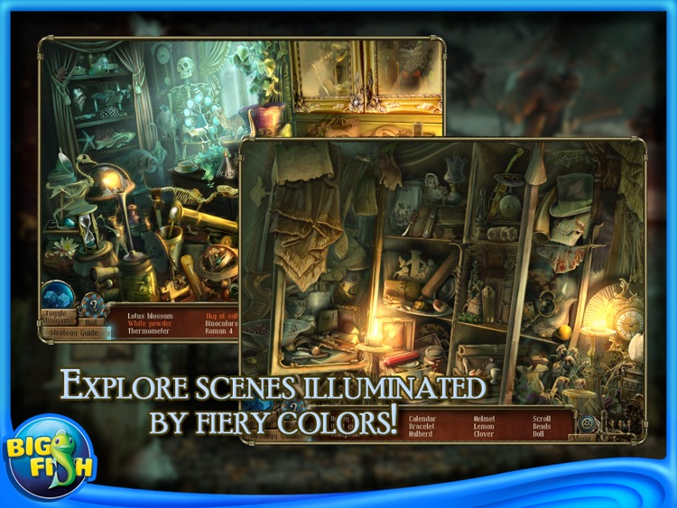 Time Mysteries 2: The Ancient Spectres Collector's Edition HD (Full) screenshot-4