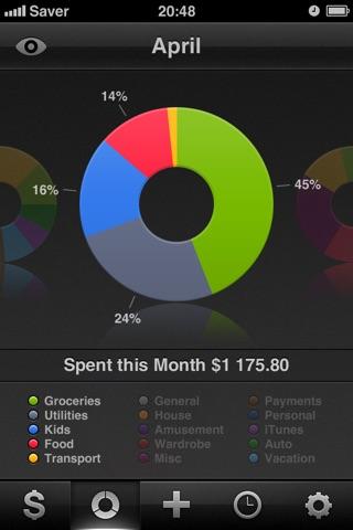 Saver ~ Control your Expenses Screenshot 2