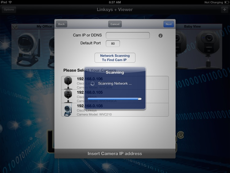 Linksys+ Viewer for iPad screenshot-1