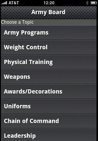Army Board Study Guide for Soldiers
