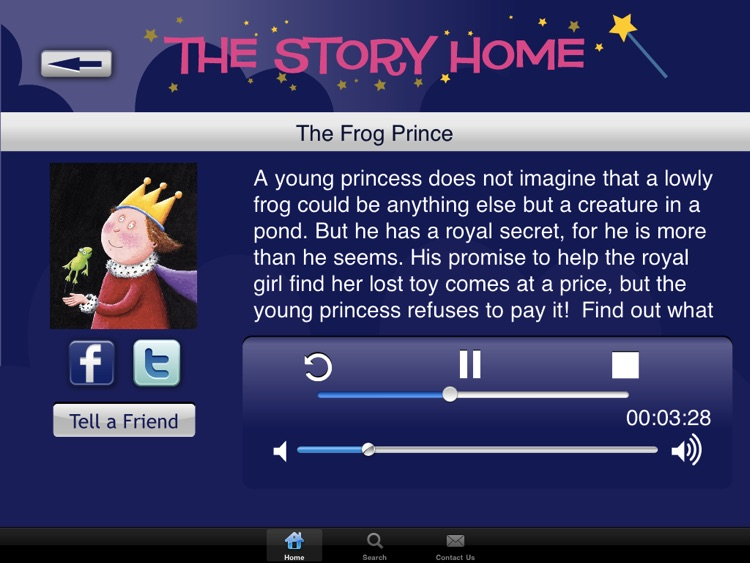 The Story Home - Children's Audio Stories- For iPad