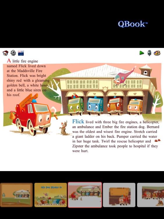 Flick The Little Fire Engine Lite screenshot-4