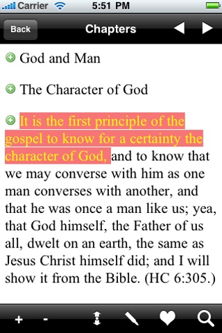 LDS Discourses & Teachings of Joseph Smith Jr. screenshot-1