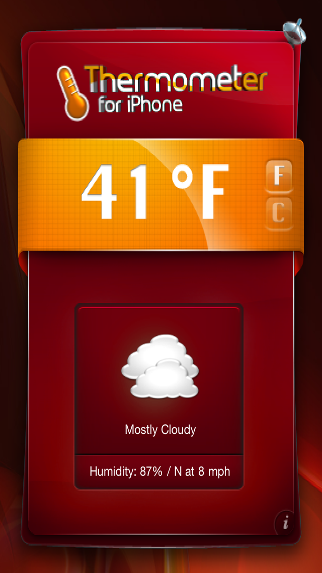Thermometer for iPhone & iPod Touch - Get Temperature & Weather !のおすすめ画像3