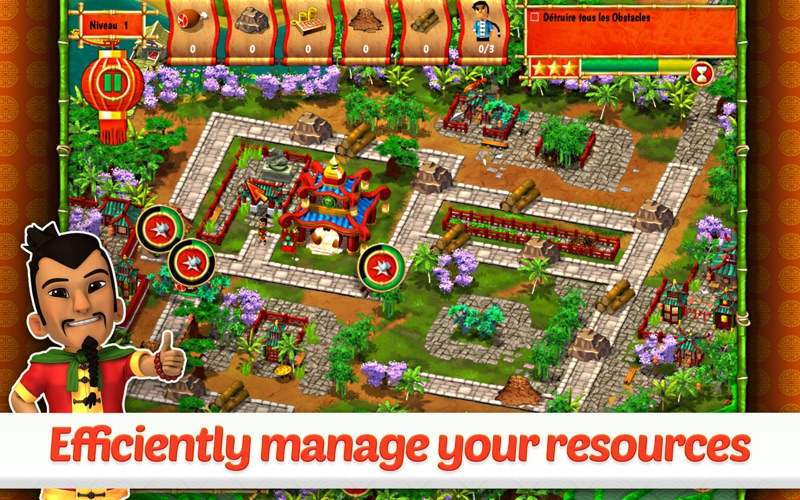 Monument Builders: Great Wall of China screenshot 2