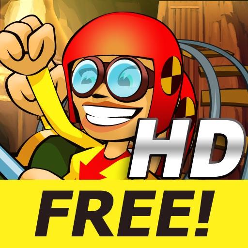 Underground 3D Rollercoaster Rush HD FREE