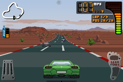 8 Bit Rally screenshot-3