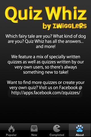 Quiz Whiz for Facebook (Free) screenshot-3