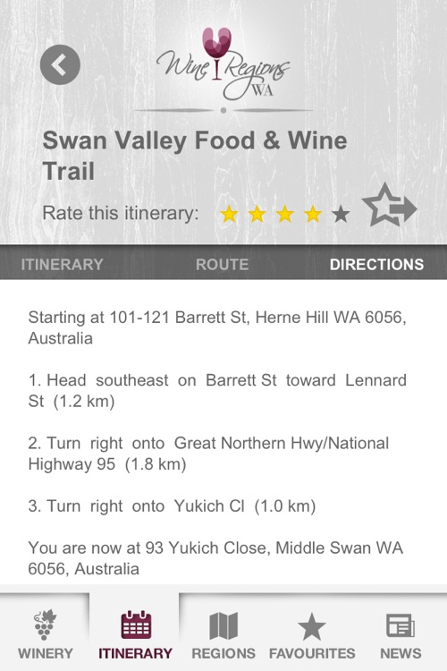 Wine Regions WA screenshot-1