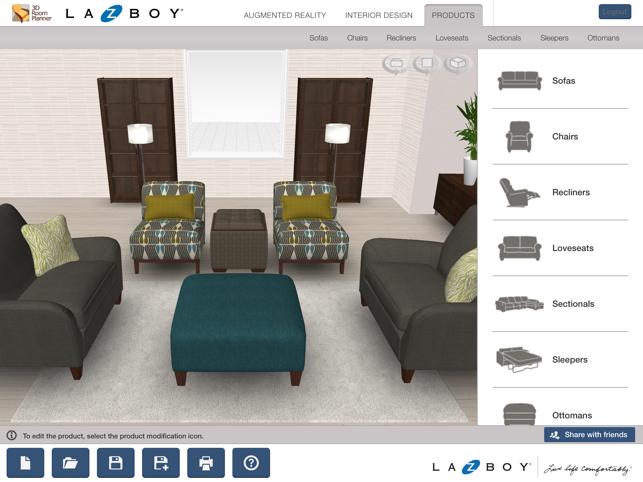 . La Z Boy 3D Room Planner on the App Store