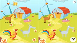 活躍的兒童遊戲2-5歲左右的農場的動物: 學習 幼兒園,學前班或幼兒園屏幕截圖5