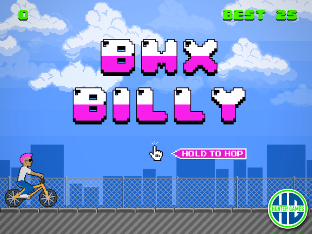 BMX Billy - The Impossible Jump, game for IOS