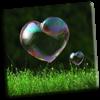 Heart Bubbles - Marian Raafat