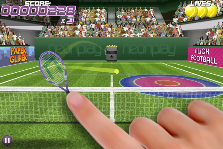 Pro Tennis Volley screenshot-0