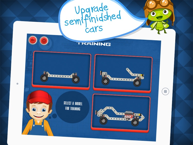 Construct a Car - Create Vehicles Puzzle Game & Driving Simulator - by A+ Kids Apps & Educational Games screenshot-3