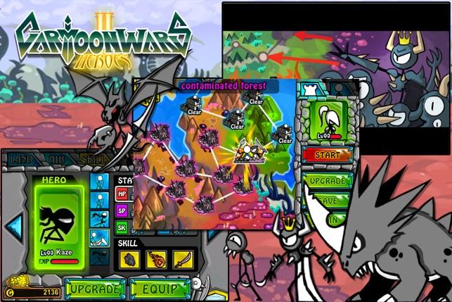 Cartoon Wars 2 Android Cheats - YouTube