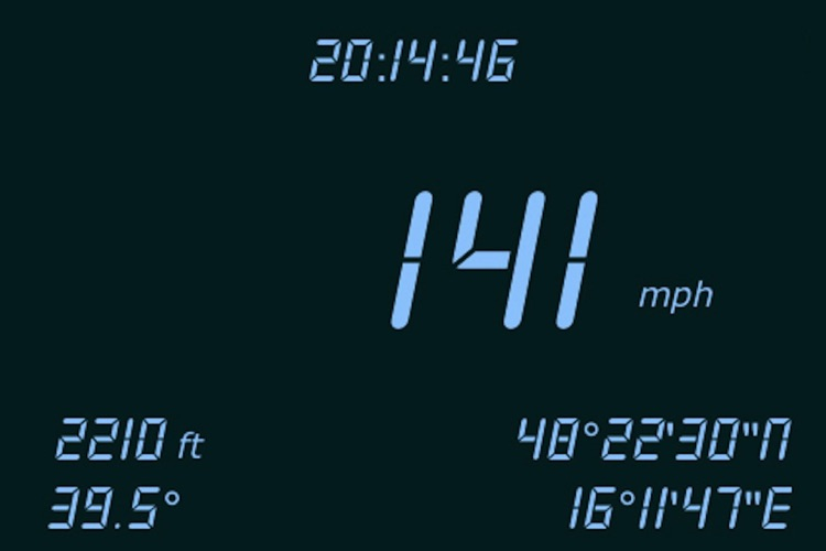 V-Cockpit GPS Lite - All in one (Compass, Altimeter, Speedometer, HUD, ...) screenshot-3