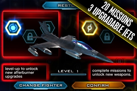 Benjamin Jet Fighters screenshot 3