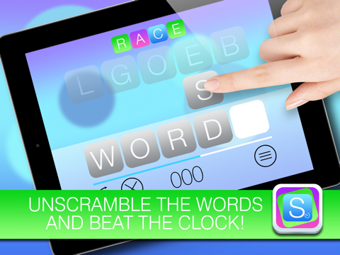 Scramble HD FREE - Unscramble the words and beat the clock | App