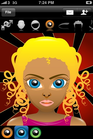 Avatar Free (Super Cute Contact Face Creator) screenshot-3