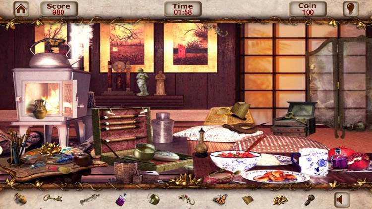 Hidden Object:Temple Of The Lotus Hidden Objects