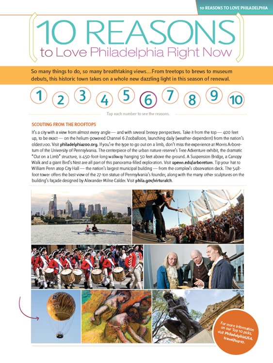 Philadelphia Official Visitors Guide