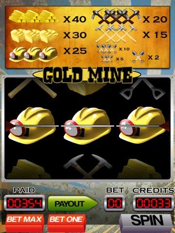 A Gold Mine Slot Machine with Blackjack and Bonus Wheel-ipad-0