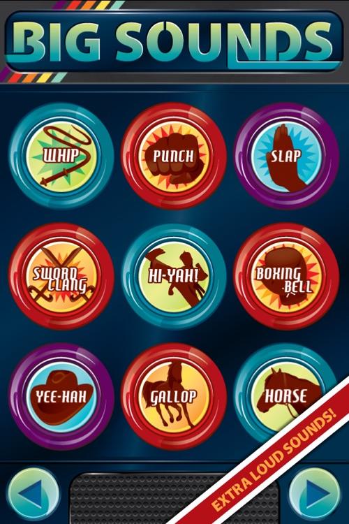 Big Sounds ~ sound effects button box + ringtones screenshot-4