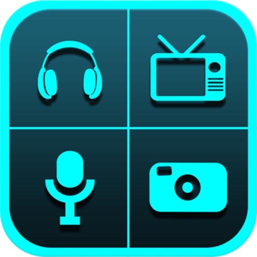 Pro All in One Radio Photo Media uTube Set