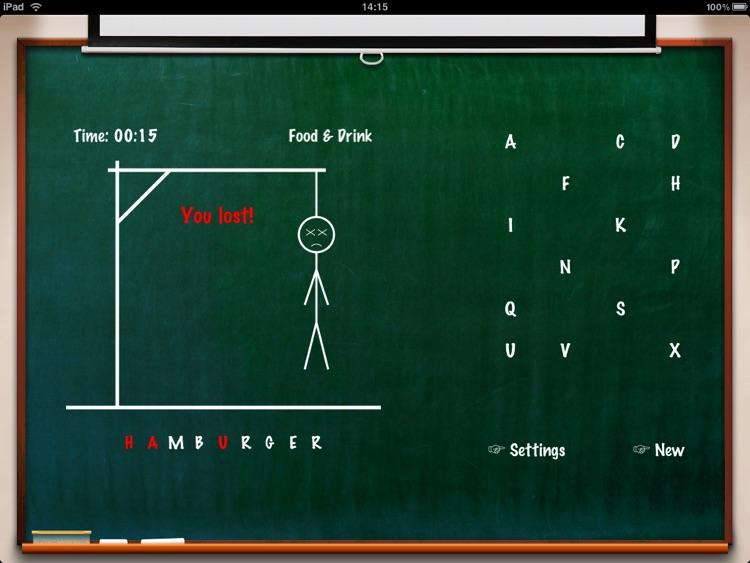 Hangman Classic HD Free screenshot-3