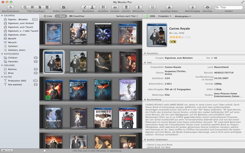 My Movies Pro - Movie Library Screenshot