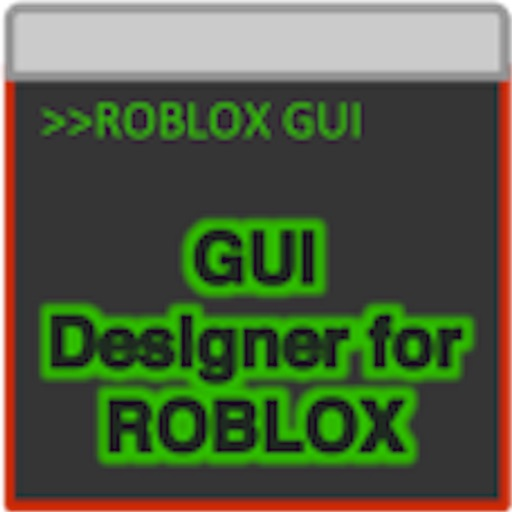 GUI Designer for ROBLOX