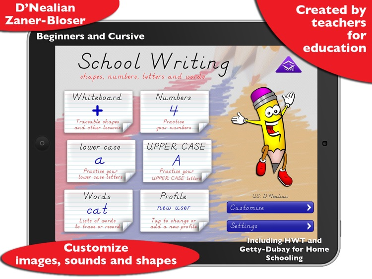 School Writing – Learn to write and more.