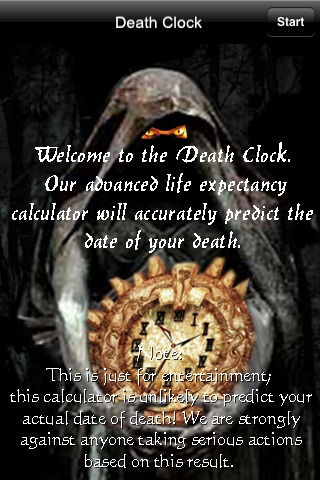 Death Clock - When Are You Going To Die?