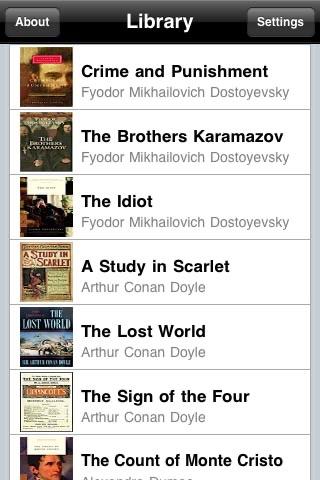 101 Classic Novels screenshot-4