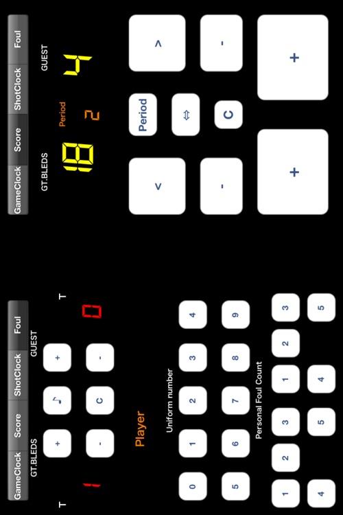 Basketball Scoreboard -Dejibo- screenshot-3