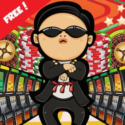 Casino Music Slots Game:PSY in Vegas Strip Party (FREE Edition)