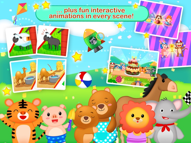 Toddler Maze 123 Free - Fun learning with Children animated puzzle game screenshot-4