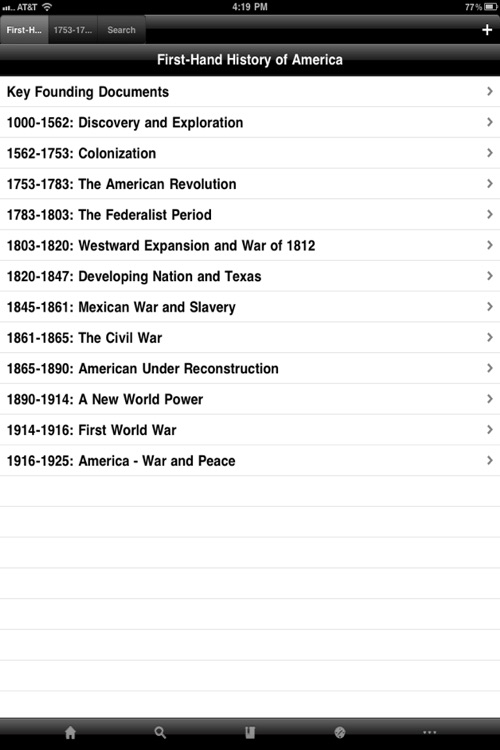 First-Hand History of America screenshot-1